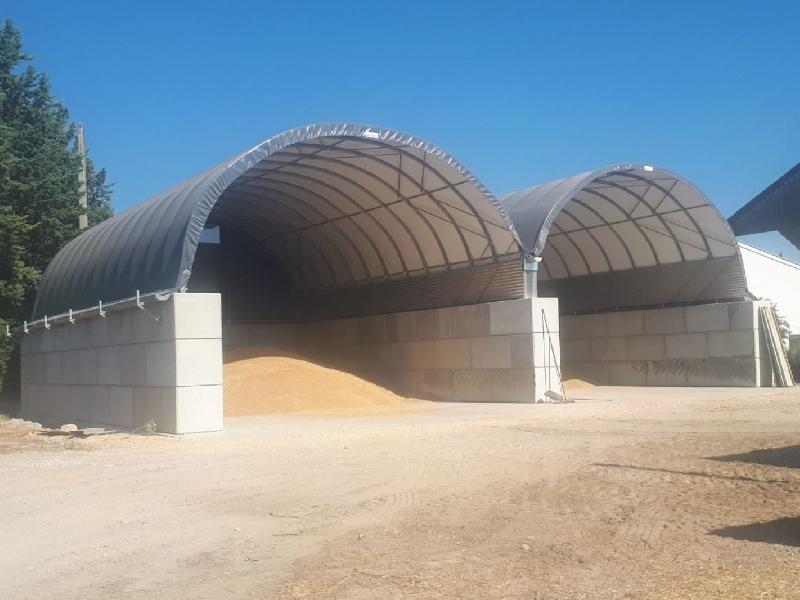 Almacenamiento de cereales/fertilizantes