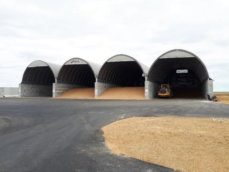 Almacenamiento de cereales - Francia - SCAEL